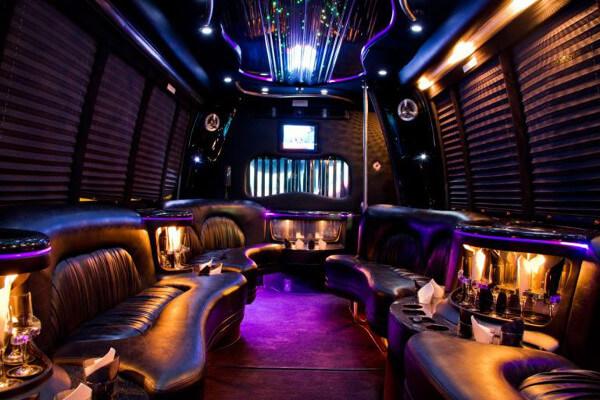 18 people party bus rental Baltimore