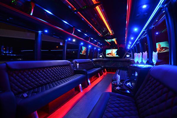 40 passenger party bus rental Baltimore