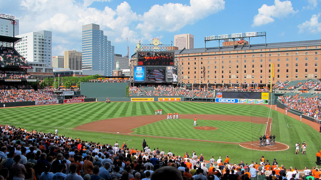 party bus rental oriole park at camden yards