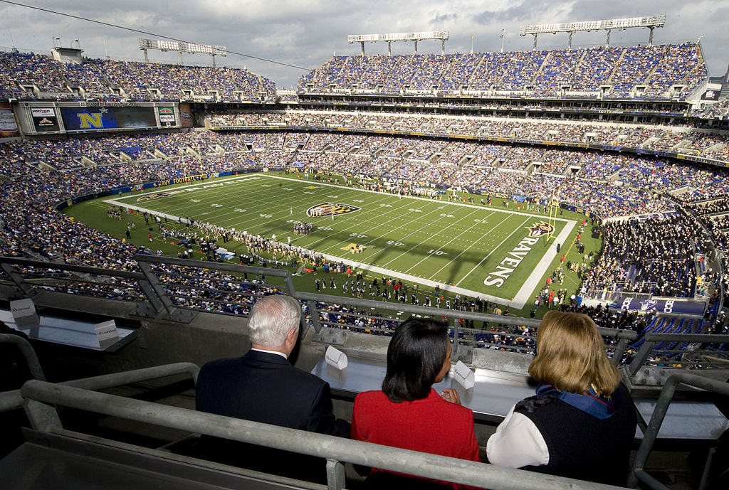 party bus service baltimore ravens stadium